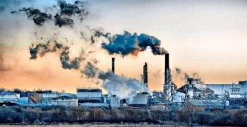 Загрязнение воздуха заводом
