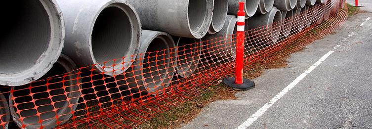 Бетонные канализационные трубы