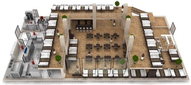проектирование зданий общественного питания